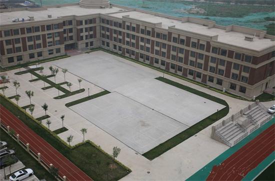 通州潞苑小学中央空调通风工程